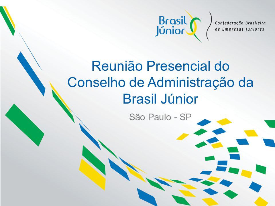 Reunião Presencial do Conselho de Administração da Brasil Júnior