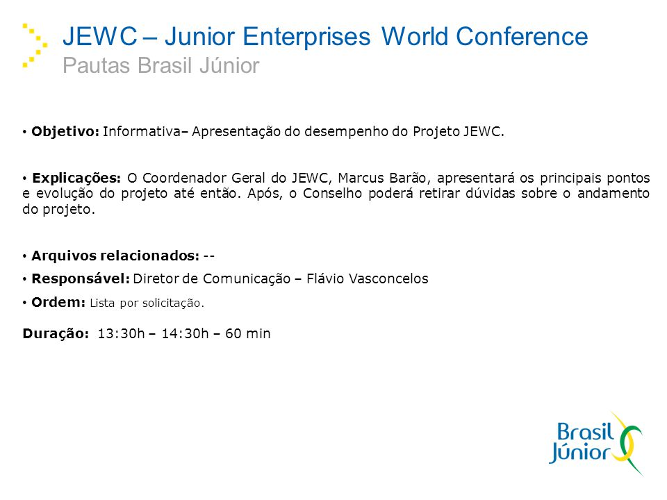 JEWC – Junior Enterprises World Conference