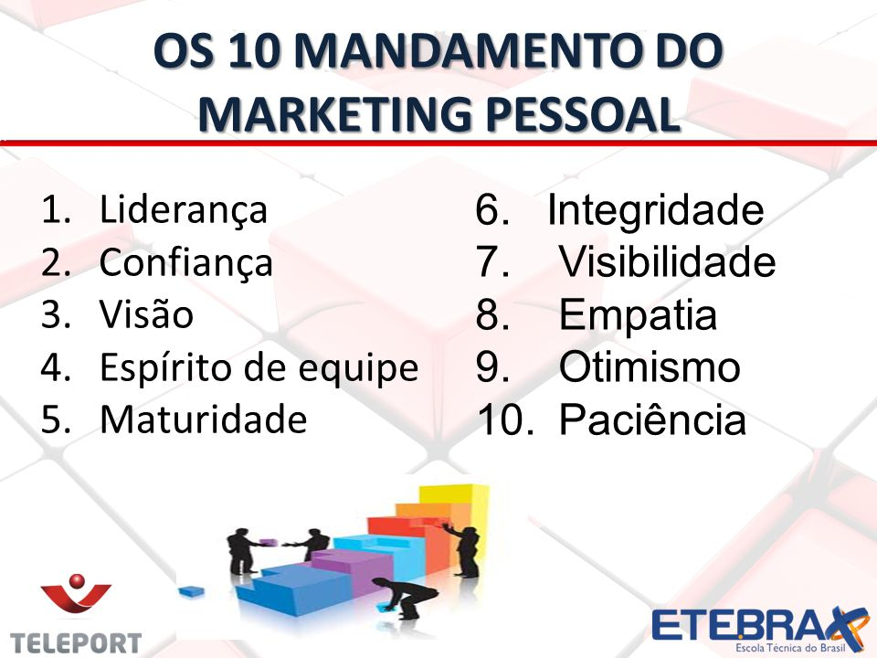 Os 10 Mandamento DO marketing pessoal