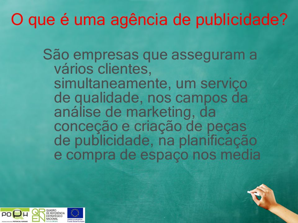 O que é uma agência de publicidade