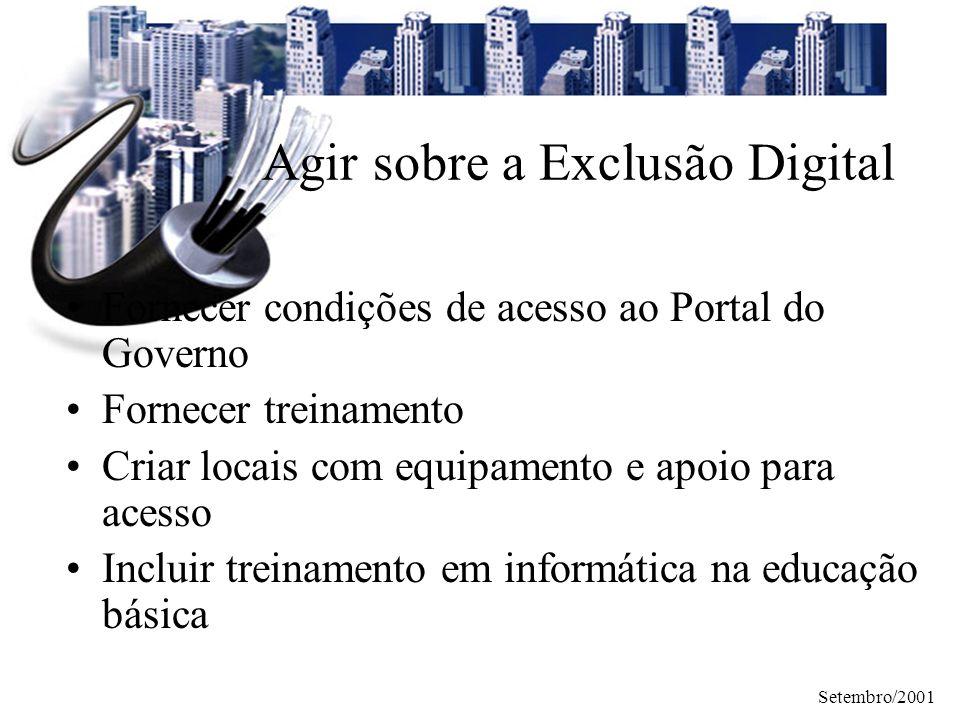 Agir sobre a Exclusão Digital