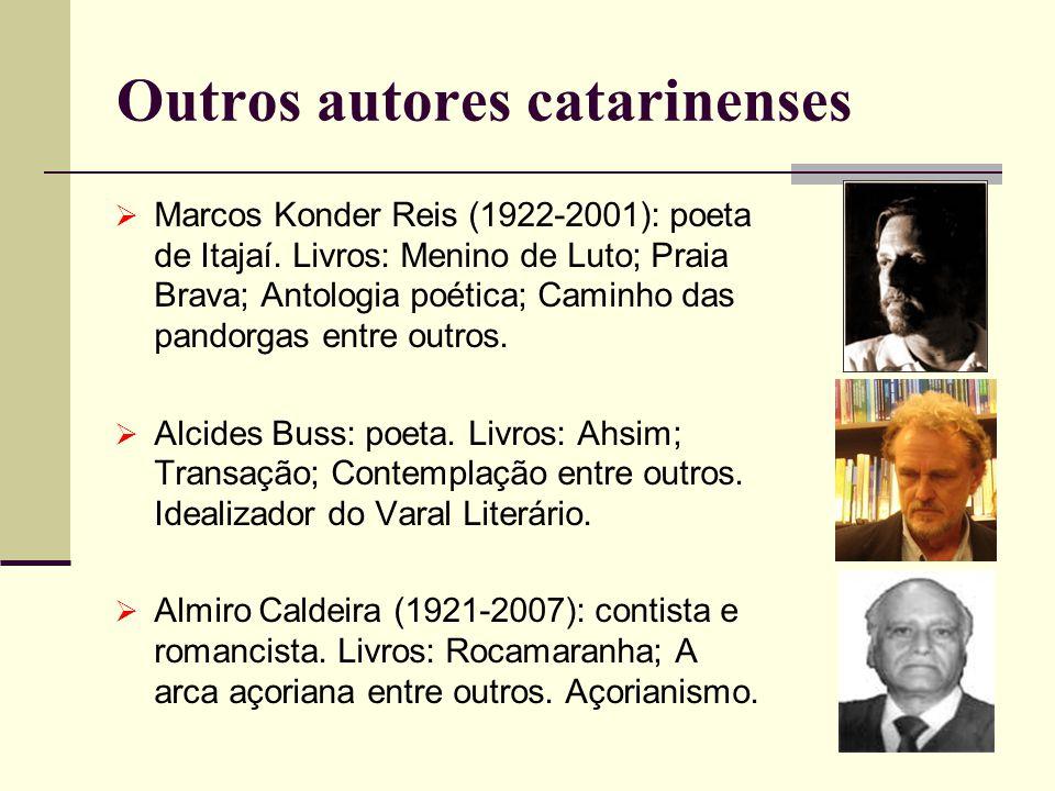 Outros autores catarinenses