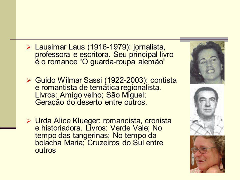 Lausimar Laus (1916-1979): jornalista, professora e escritora