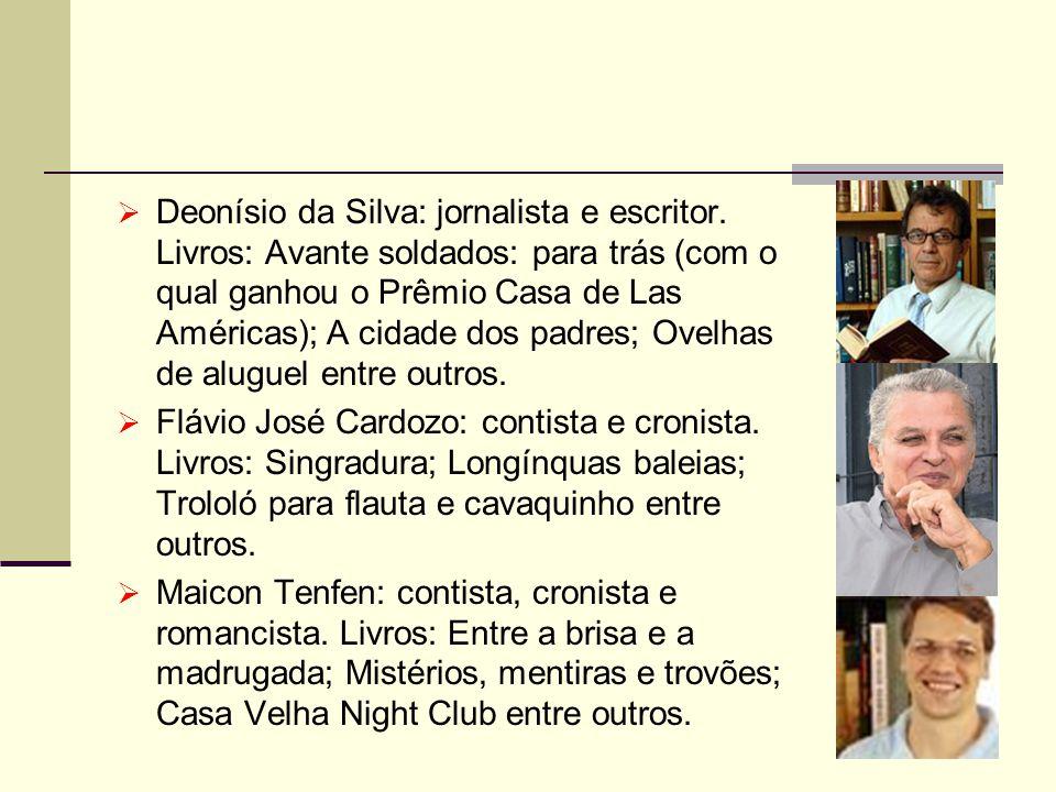 Deonísio da Silva: jornalista e escritor