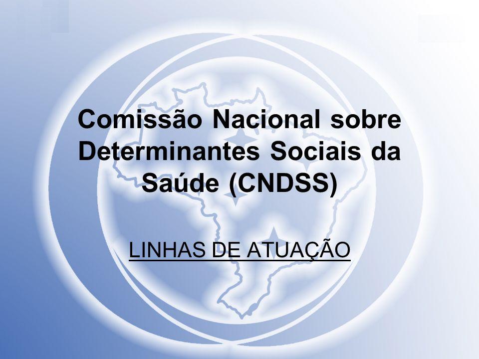 Comissão Nacional sobre Determinantes Sociais da Saúde (CNDSS)