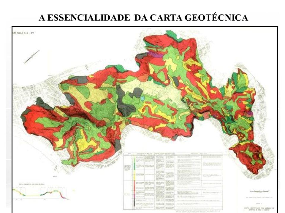 A ESSENCIALIDADE DA CARTA GEOTÉCNICA