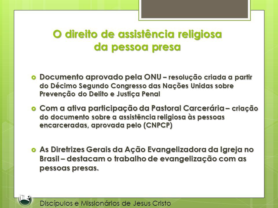 O direito de assistência religiosa da pessoa presa