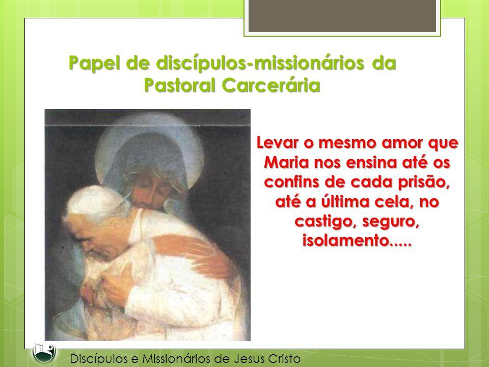 Papel de discípulos-missionários da Pastoral Carcerária