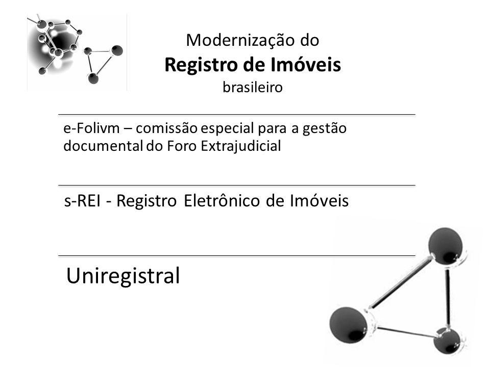 Modernização do Registro de Imóveis brasileiro