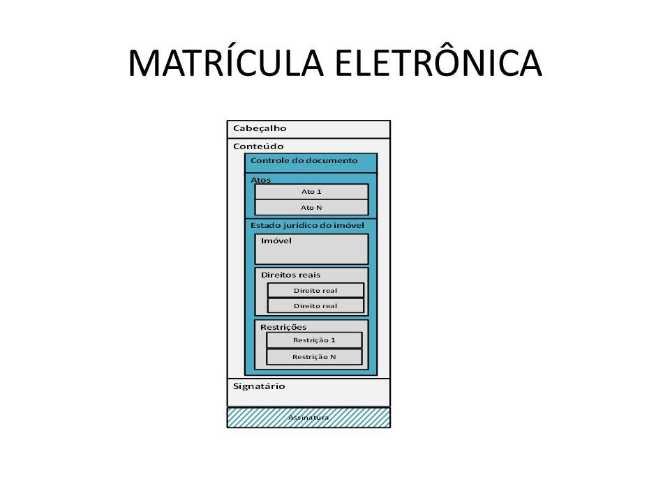 MATRÍCULA ELETRÔNICA