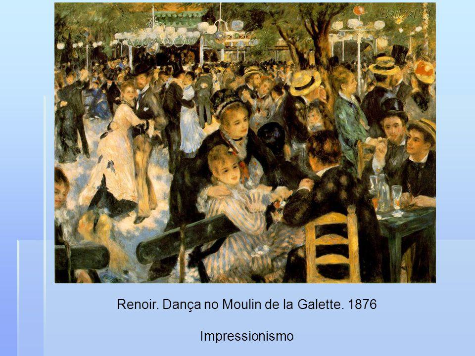 Renoir. Dança no Moulin de la Galette. 1876