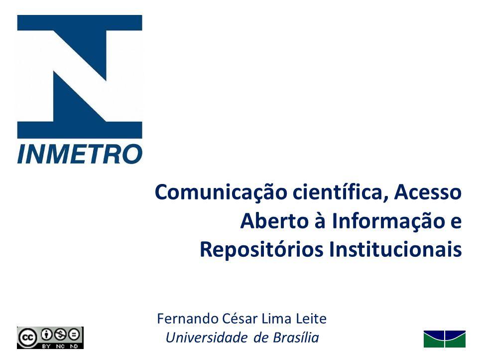 Fernando César Lima Leite Universidade de Brasília