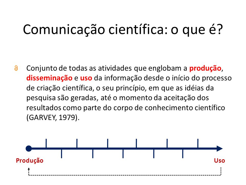 Comunicação científica: o que é