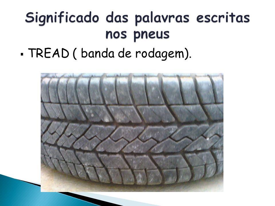 Significado das palavras escritas nos pneus