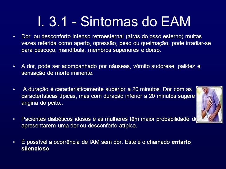 I. 3.1 - Sintomas do EAM