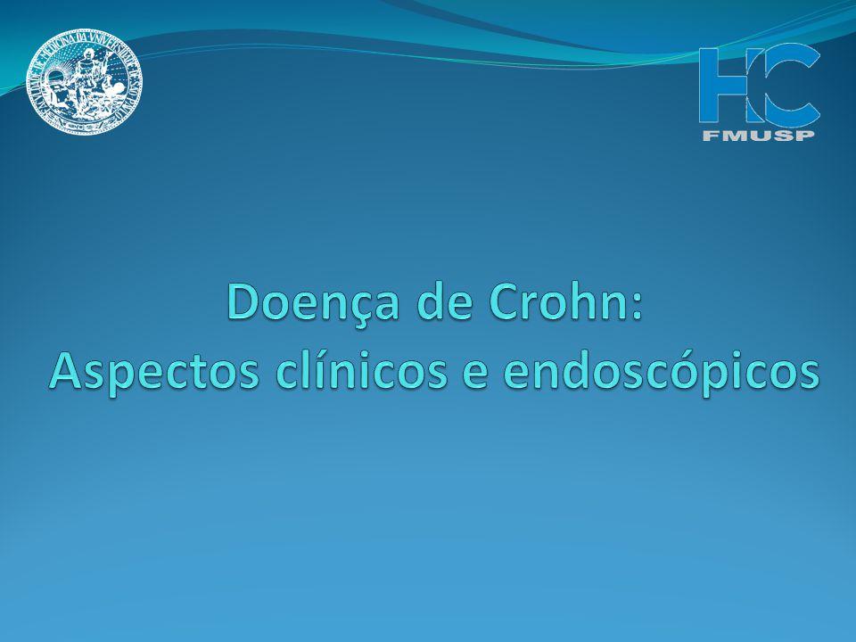 Doença de Crohn: Aspectos clínicos e endoscópicos