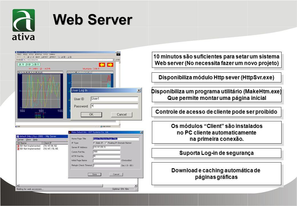 Web Server 10 minutos são suficientes para setar um sistema