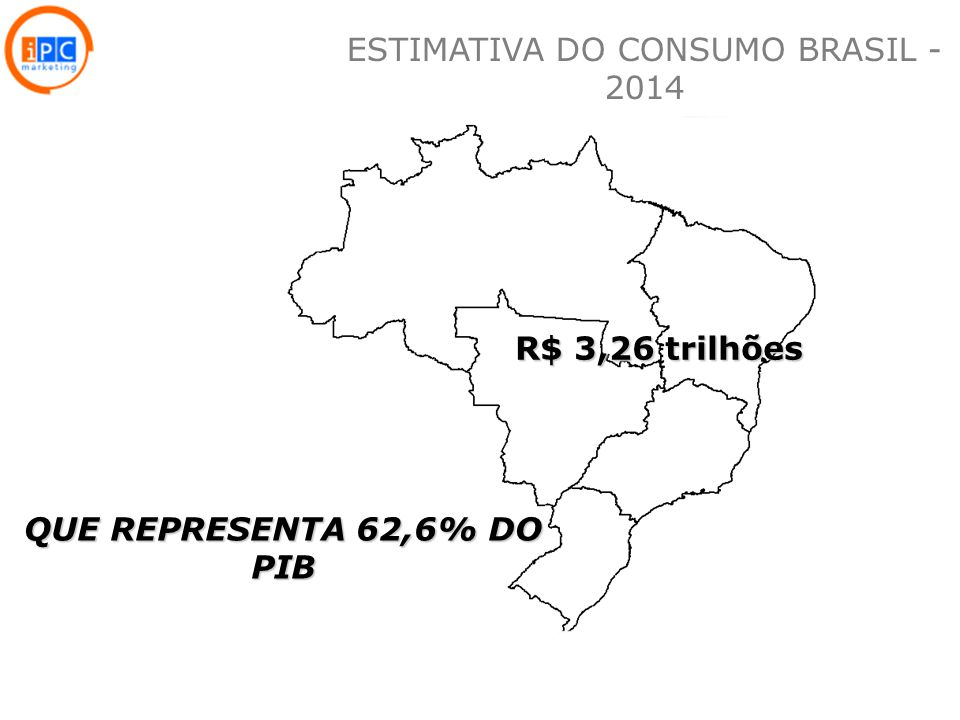ESTIMATIVA DO CONSUMO BRASIL - 2014
