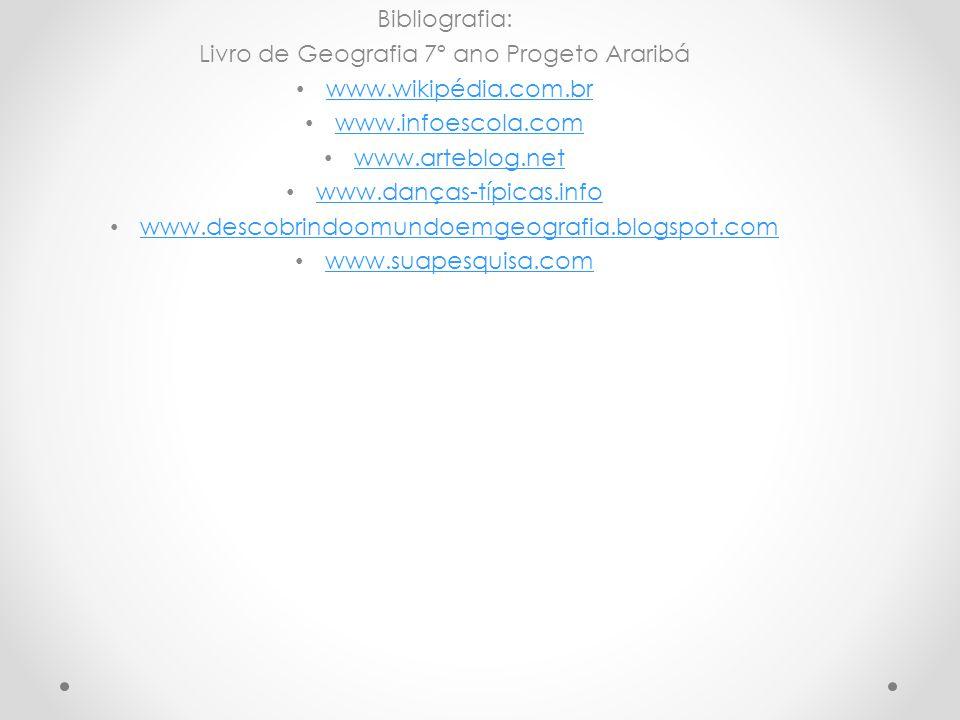 Livro de Geografia 7º ano Progeto Araribá