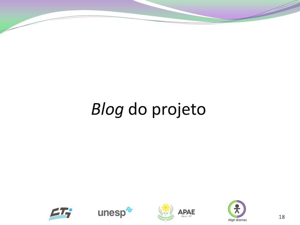 Blog do projeto
