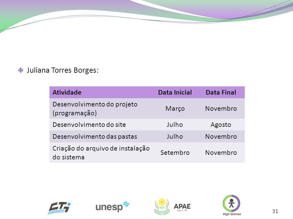 Juliana Torres Borges: