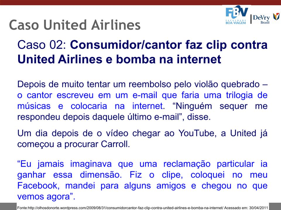 Caso United Airlines