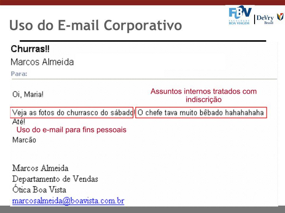 Uso do E-mail Corporativo