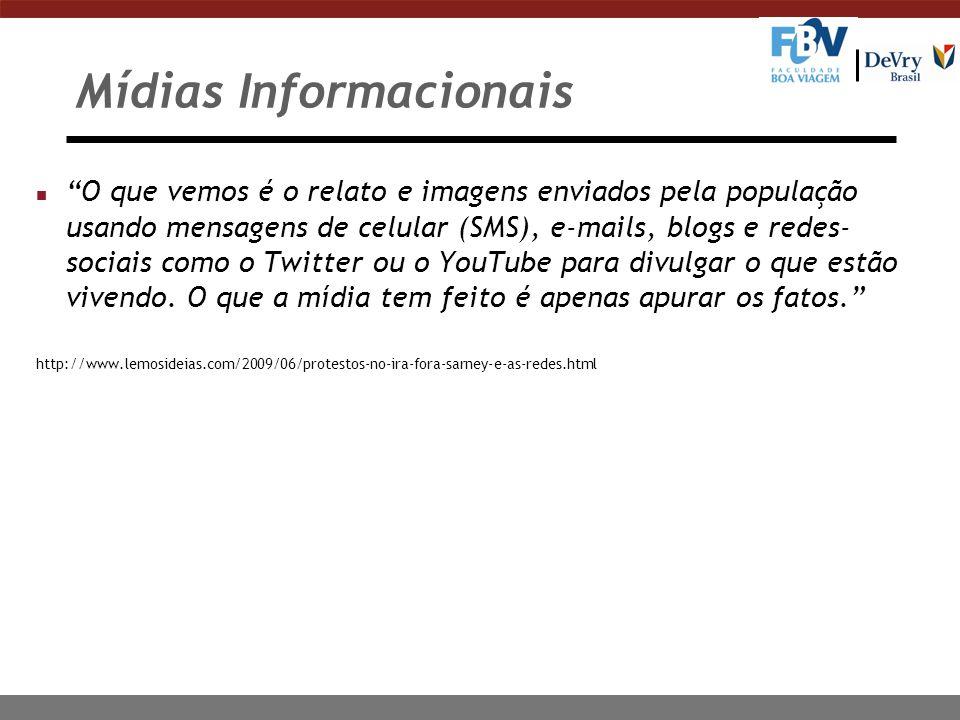 Mídias Informacionais