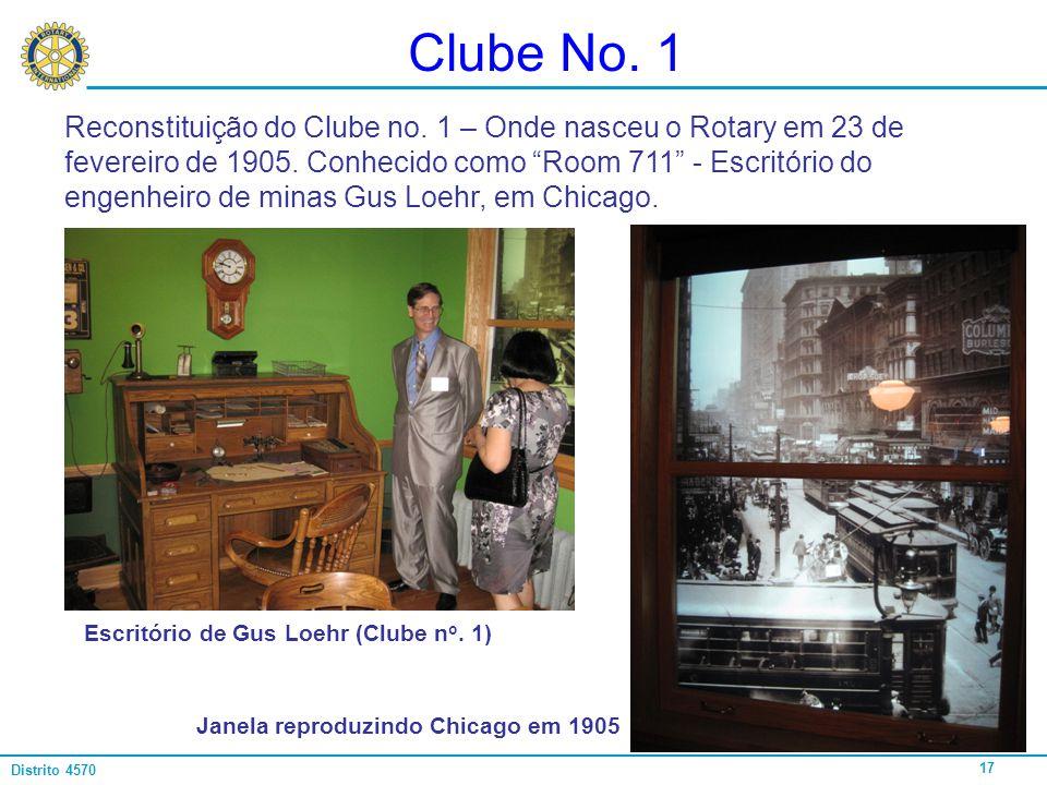 Clube No. 1