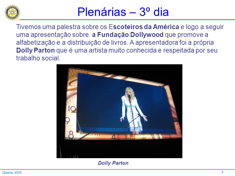 Plenárias – 3º dia