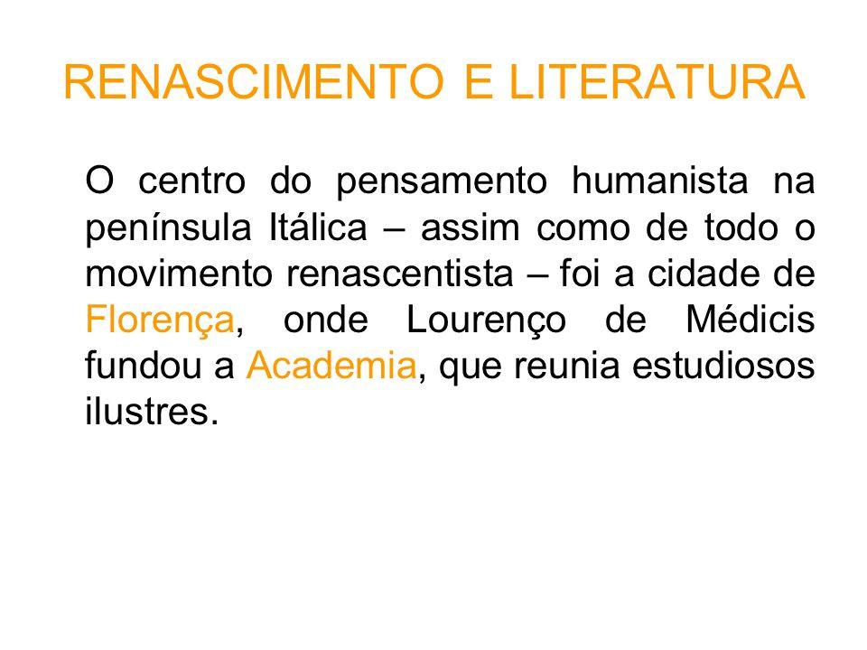RENASCIMENTO E LITERATURA