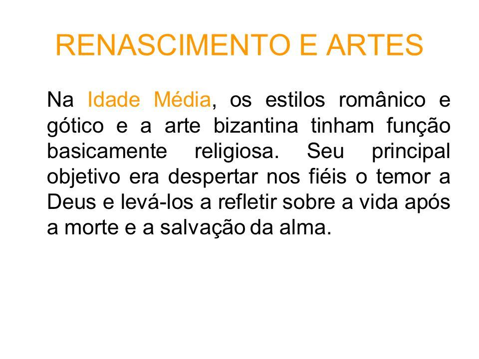 RENASCIMENTO E ARTES