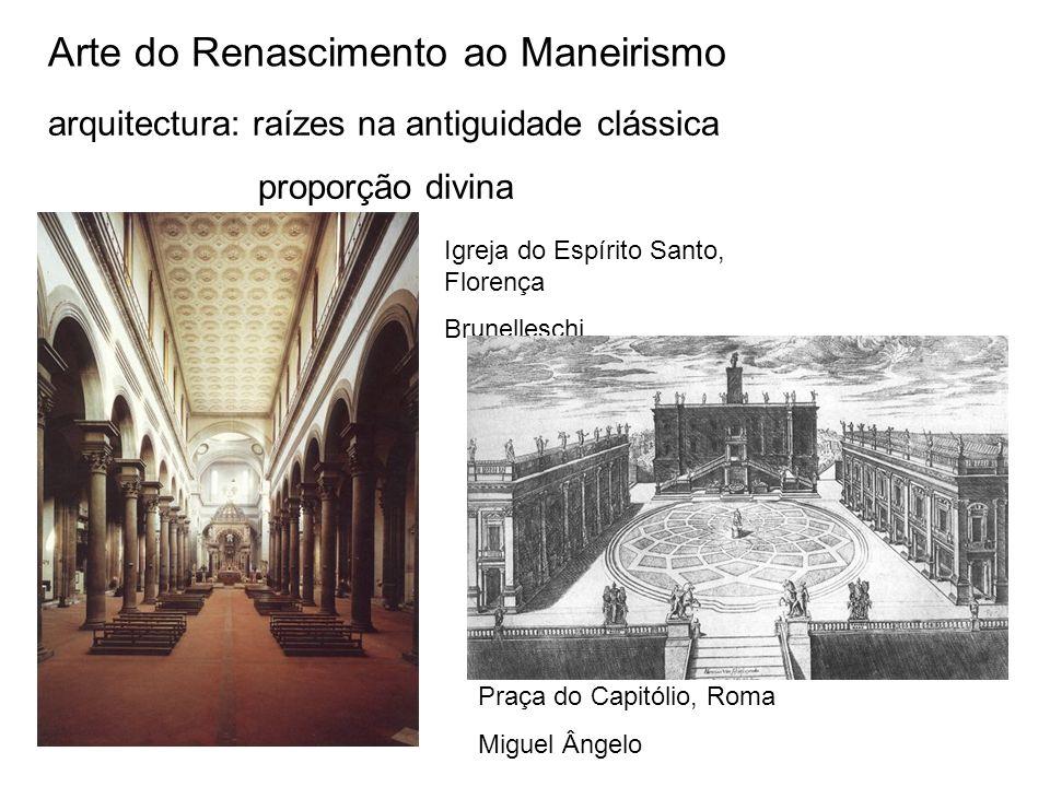 Arte do Renascimento ao Maneirismo