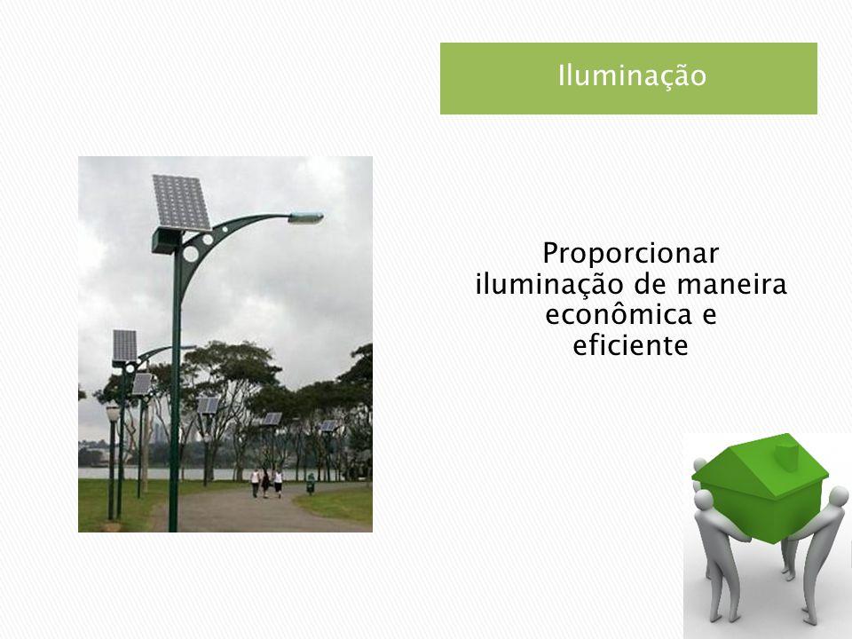 Proporcionar iluminação de maneira econômica e eficiente