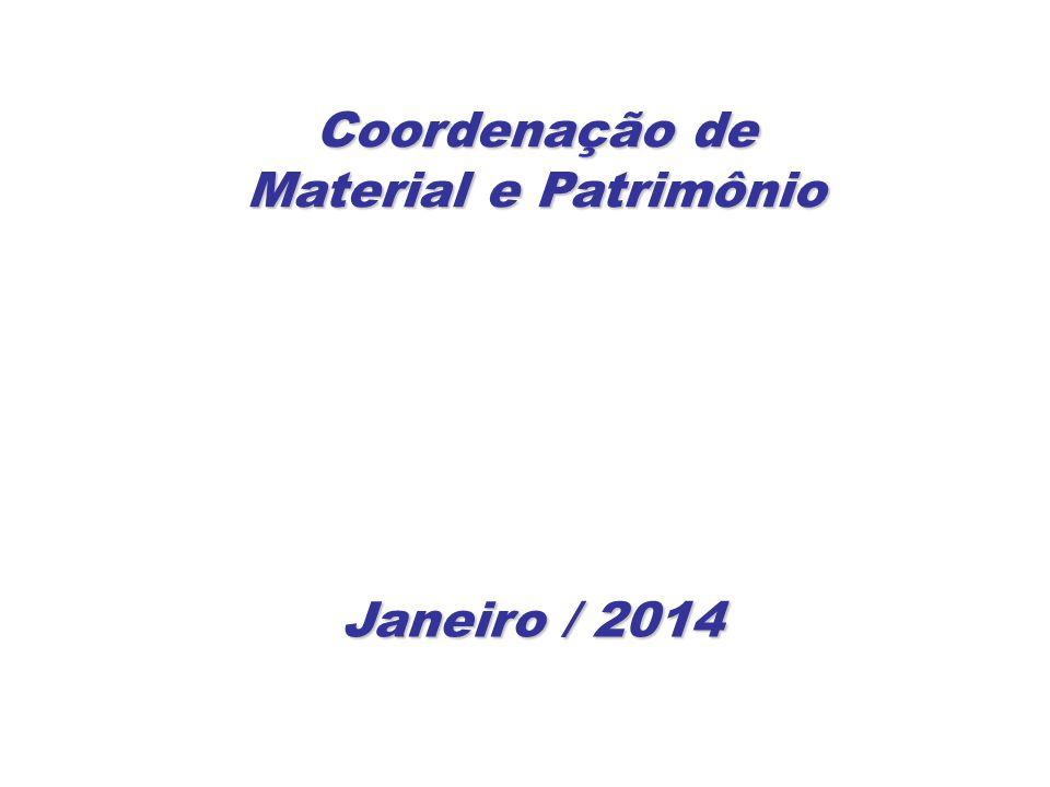 Coordenação de Material e Patrimônio