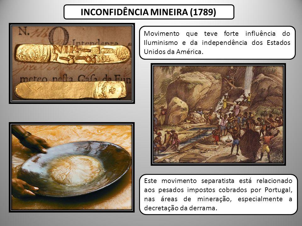 INCONFIDÊNCIA MINEIRA (1789)