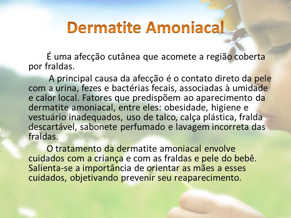 Dermatite Amoniacal