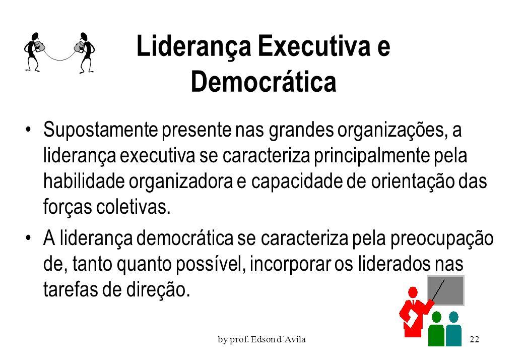 Liderança Executiva e Democrática