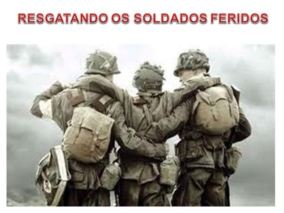 RESGATANDO OS SOLDADOS FERIDOS