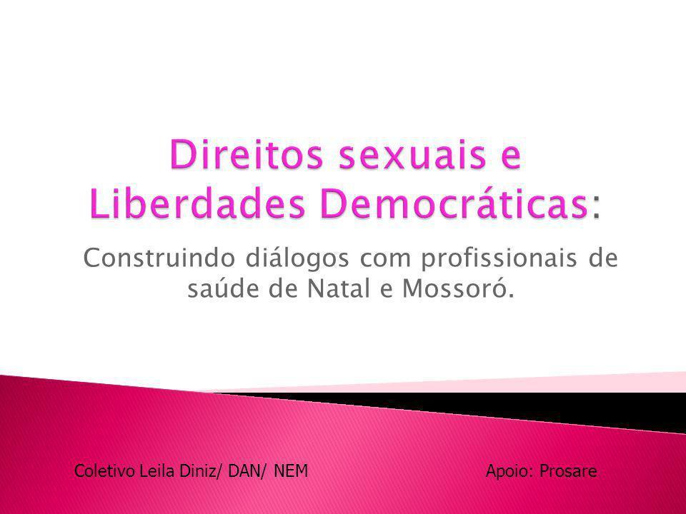 Direitos sexuais e Liberdades Democráticas: