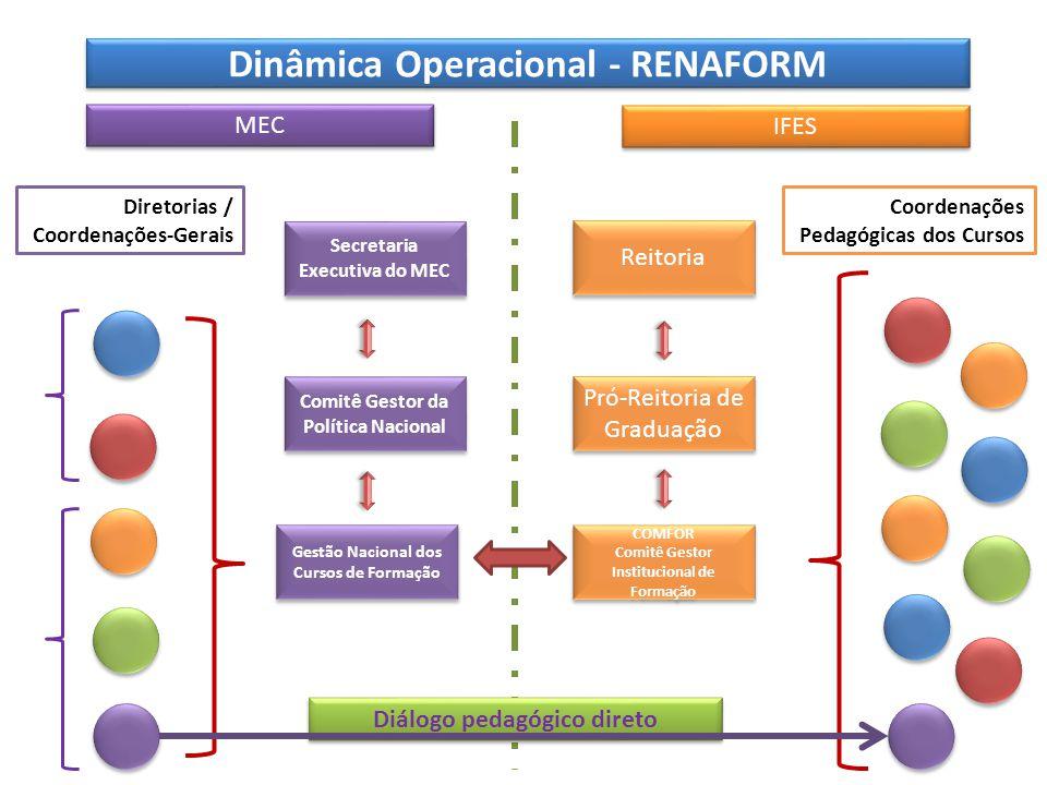 Dinâmica Operacional - RENAFORM