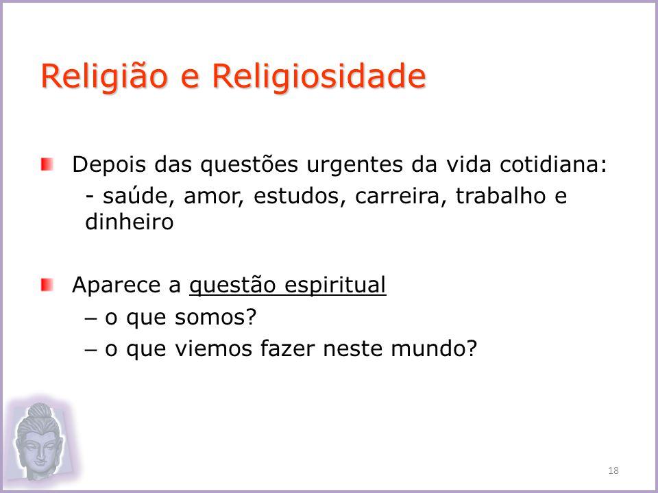 Religião e Religiosidade