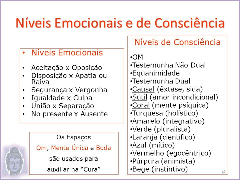 Níveis Emocionais e de Consciência