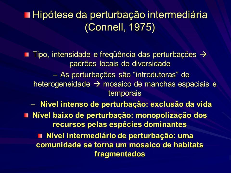 Hipótese da perturbação intermediária (Connell, 1975)