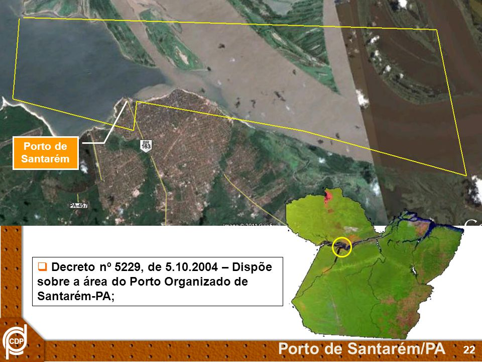 Porto de Santarém Porto de Santarém/PA