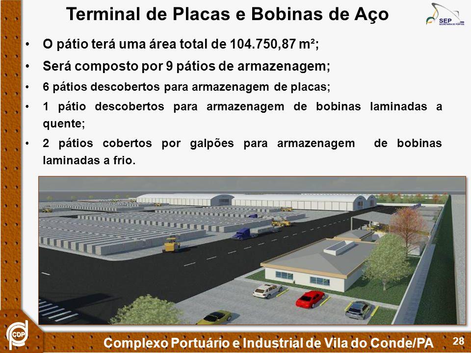 Terminal de Placas e Bobinas de Aço