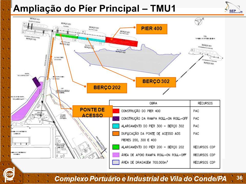 Ampliação do Píer Principal – TMU1