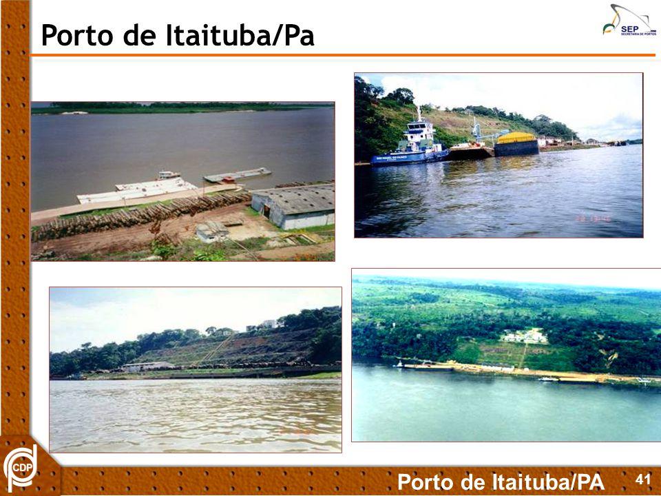 Porto de Itaituba/Pa Porto de Itaituba/PA 41