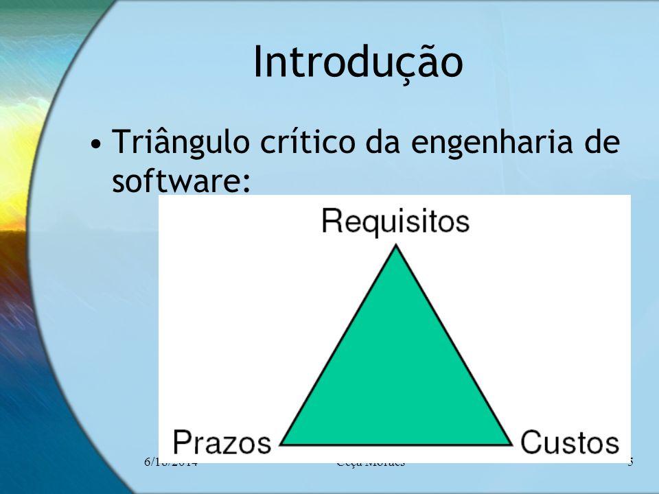 Introdução Triângulo crítico da engenharia de software: 4/2/2017
