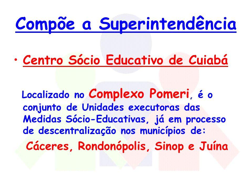 Compõe a Superintendência